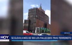 México: Más de 220 fallecidos tras terremoto