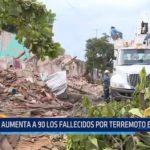 México: A 90 aumenta la cifra de fallecidos a consecuencia del terremoto