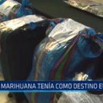 Marihuana decomisada en Huamachuco tenía como destino Europa