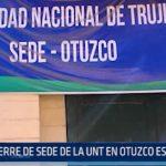Otuzco: Cierre de sede de la UNT es criticado