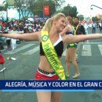 Alegría, música y color en el gran Corso Primaveral