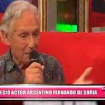 Internacional: Falleció el actor Fernando de Soria