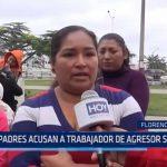 Florencia de Mora: Padres acusan a trabajador de agresor sexual