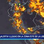 ¡Alerta! lluvias en la zona este de La Libertad