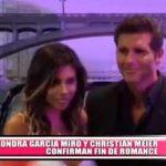 Nacional: Alondra García y Christian Meier confirman fin de romance