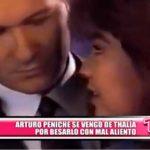 Internacional: La broma de Arturo Peniche hacia Thalía, por besarle con mal aliento