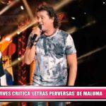 """Carlos Vives critica las """"letras perversas"""" de Maluma."""