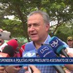 Colombia: Suspenden a policías por presunto asesinato de campesinos