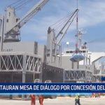 Salaverry: Instauran mesa de diálogo por concesión del puerto