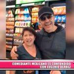 Internacional: Confunden a comediante mexicano con Eugenio Derbez