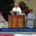 "Trujillo: Presentan Coro ""Papa Francisco 2018"""
