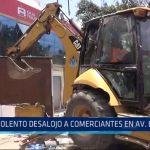 Trujillo: Violento desalojo a comerciantes en avenida España