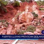Honduras: Fuertes lluvias provocan deslaves