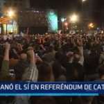 Ganó el sí en referéndum de Cataluña