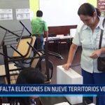 Falta elecciones en nueve territorios vecinales