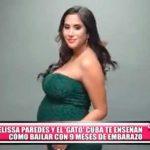 """Nacional: Melissa Paredes disfruta de su embarazo junto a su pareja Rodrigo """"Gato"""" Cuba"""