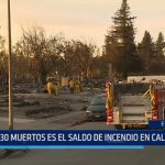 EE.UU: 30 muertos es el saldo de incendio en California