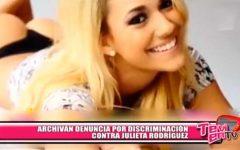 Nacional: Archivan denuncia por discriminación contra Julieta Rodríguez