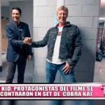 Karate Kid: Protagonistas del filme se reencontraron en set de 'Cobra Kai'