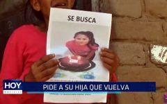 Madre de joven desaparecida pide a su hija que vuelva