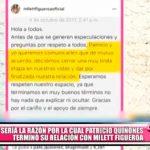 La verdadera razón de la separación de Milett Figueroa y el bailarín Patricio Quiñones
