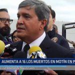 México: Aumentan a 16 muertos en motín en penal