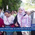 Guatemala: Mujeres Premio Noble de la Paz piden cese de actividad minera
