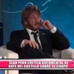 "Internacional: Sean Penn critica la serie ""Cuando conocí al Chapo: La historia de Kate del Castillo"""