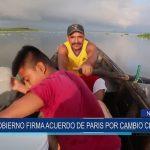 Nicaragua: Gobierno firma acuerdo de París por cambio climático