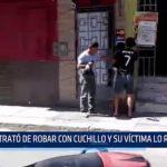 Piura: Trató de robar con cuchillo y su víctima lo redujo