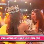 Nacional: Romina Lozano es la nueva Miss Perú 2018