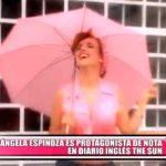 Rosángela Espinoza es protagonista de nota en diario inglés The Sun