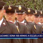 Chimbote: Sucamec dona 100 armas a Escuela de la PNP