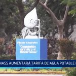 SUNASS aumentará tarifa de agua potable en 8.5%