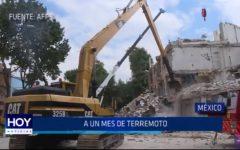 México: Aún mes de terremoto