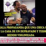 Nacional: Despiden a locutores de Radio Oxígeno son despedidos luego de burlas ante una violación
