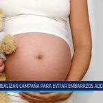 Trujillo: Realizan campaña para evitar embarazos en adolescentes