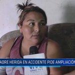 SOAT: Madre herida en accidente pide ampliación