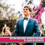 Nacionales: Famoso actor de telenovelas se casó en secreto