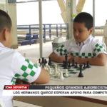 Ajedrez: Los hermanos Quiróz esperan apoyo para competir