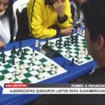 Ajedrecistas quedaron listos para Sudamericano en Paraguay