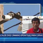 Moche: Alcalde exige cámaras operativas para Curva del Sun
