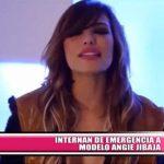 Nacional: Internan de emergencia a modelo Angie Jibaja