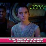 Internacional: Disney anuncia nueva trilogía de 'Guerra de las galaxias'