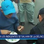 Delincuentes asaltan a un indigente en pleno Centro Histórico