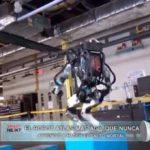 El robot Atlas más ágil que nunca, aprendió a hacer el salto mortal