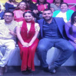 Grupo Colombiano visitó el set de Pégate al Mediodia