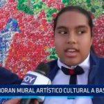 Trujillo: Elaboran mural artísticos cultural a base de chapas