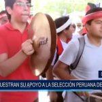 Chiclayo: Muestran apoyo a la selección peruana de fútbol