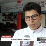 Chirstofer Cabrera regresó de Korea y feliz por convocados a la preselección